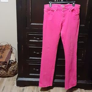 Lilly Pulitzer Pink Jeans